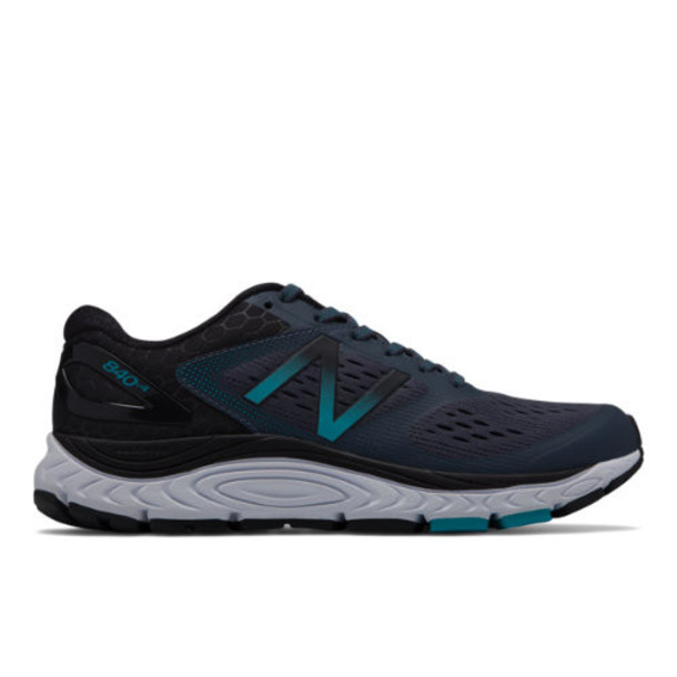 New Balance 840v4 Women's Neutral Cushioned Shoes - Grey/Blue (W840BB4)