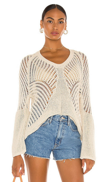 Tularosa Ziggy Pullover in Neutral in natural