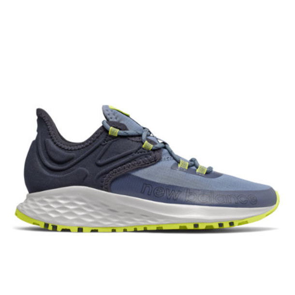 New Balance Fresh Foam Roav Trail Women's US Site Exclusions Shoes - Blue/Black (WTROVLB)