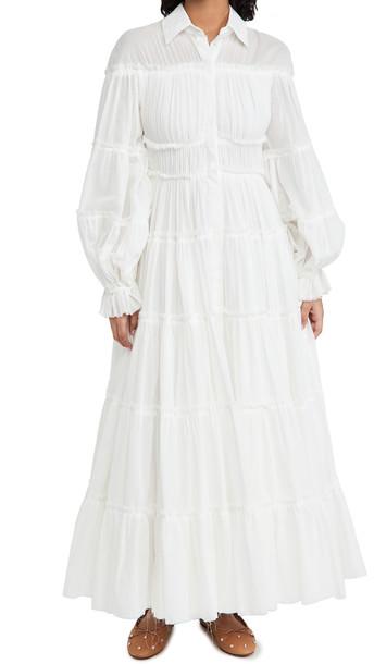 Aje Serenity Maxi Dress in white