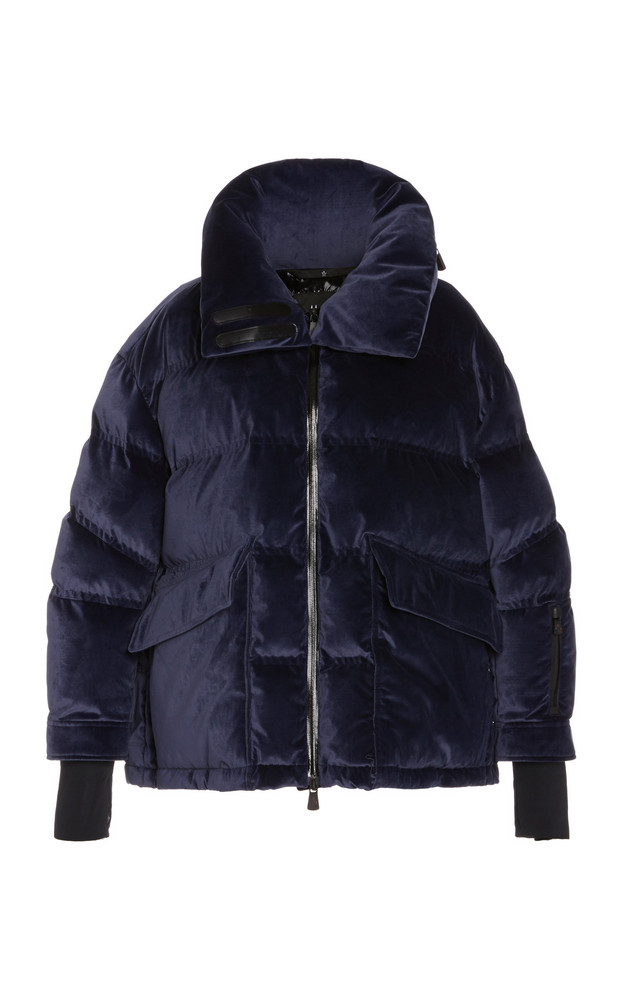 Moncler Grenoble Oversized Quilted Shell Down Coat in black