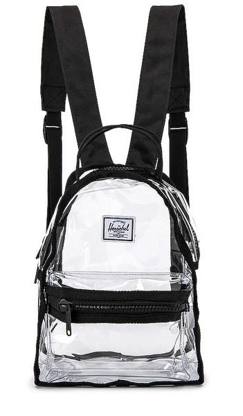 Herschel Supply Co. Herschel Supply Co. Nova Mini Backpack in Black,White