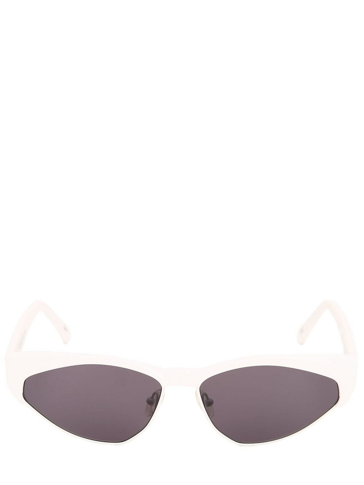 ANDY WOLF Volta Cat-eye Sunglasses in white
