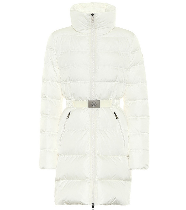 Moncler Accenteur down coat in white