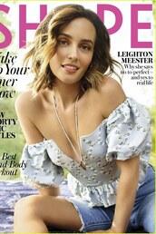 top,editorial,celebrity,floral,off the shoulder,off the shoulder top,leighton meester