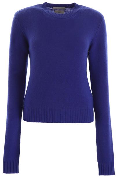 Bottega Veneta Cashmere Pullover in blue