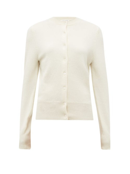 Extreme Cashmere - No. 99 Little Cashmere Blend Cardigan - Womens - Ivory