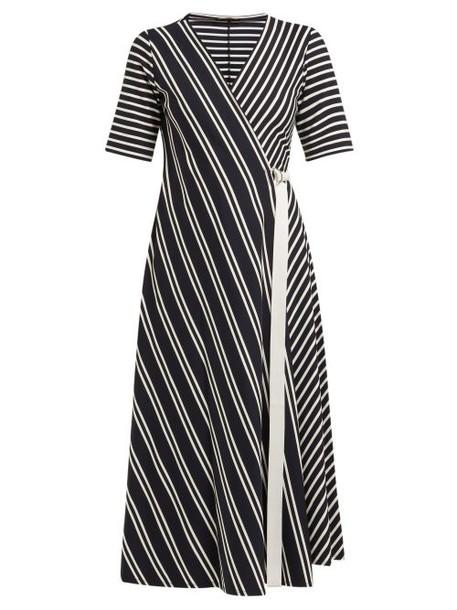 Weekend Max Mara - Ada Dress - Womens - Navy Stripe