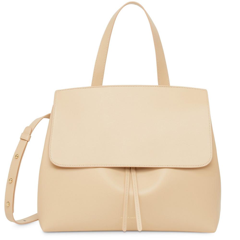 Mansur Gavriel Calf Lady Bag - Natural