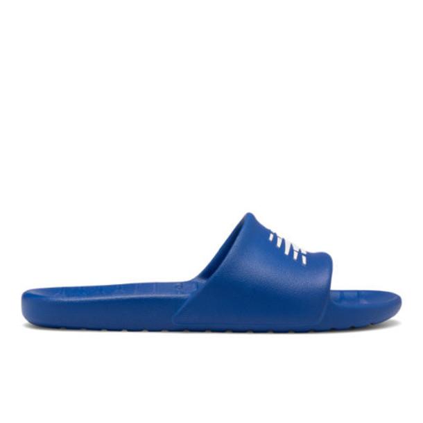 New Balance 100 Men's & Women's Slides Shoes - Blue/White (SUF100TB)