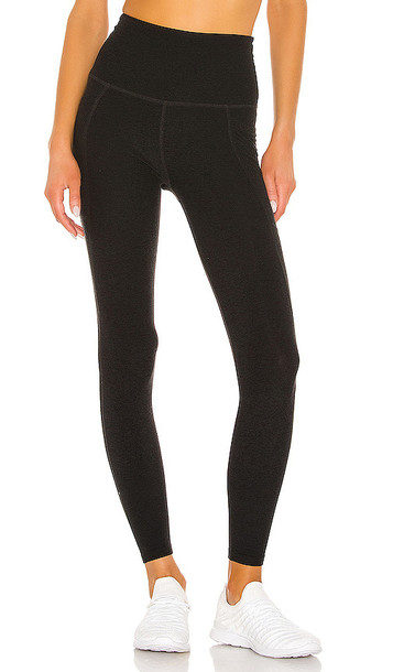 Beyond Yoga Out Of Pocket Legging in Black