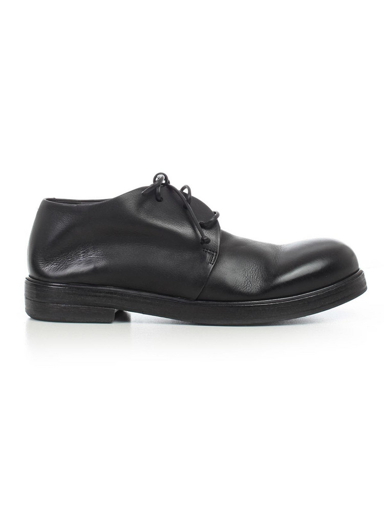 Marsell Shoes Pumpkin Wedge in nero