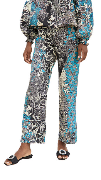 F.R.S For Restless Sleepers Etere Pants in blue / multi