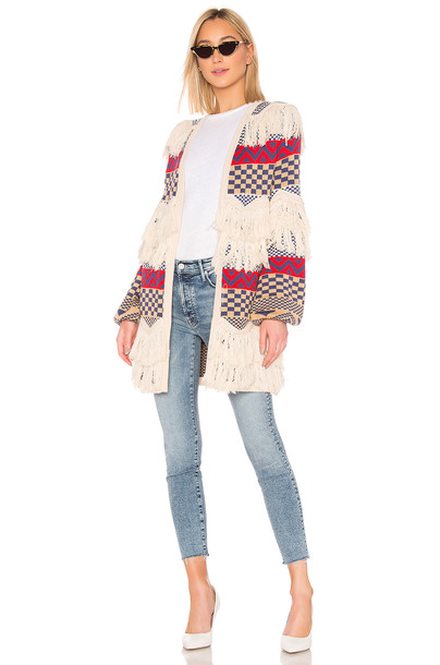 House of Harlow 1960 X REVOLVE Oasis Cardigan in red