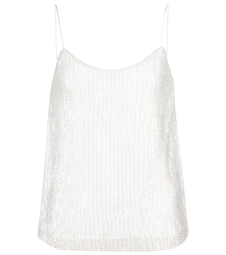 Max Mara Bridal Cerson sequined camisole in white