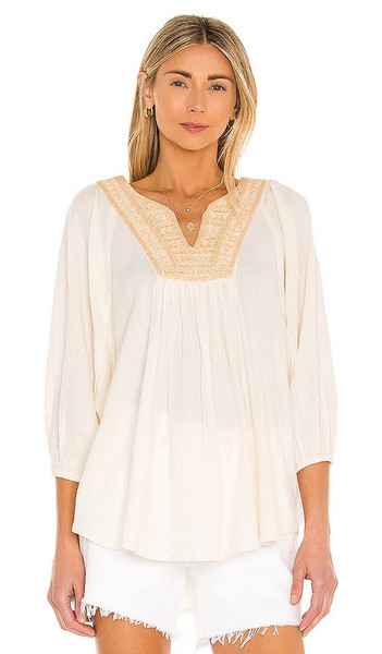 Mes Demoiselles Frederica Blouse in Cream in natural