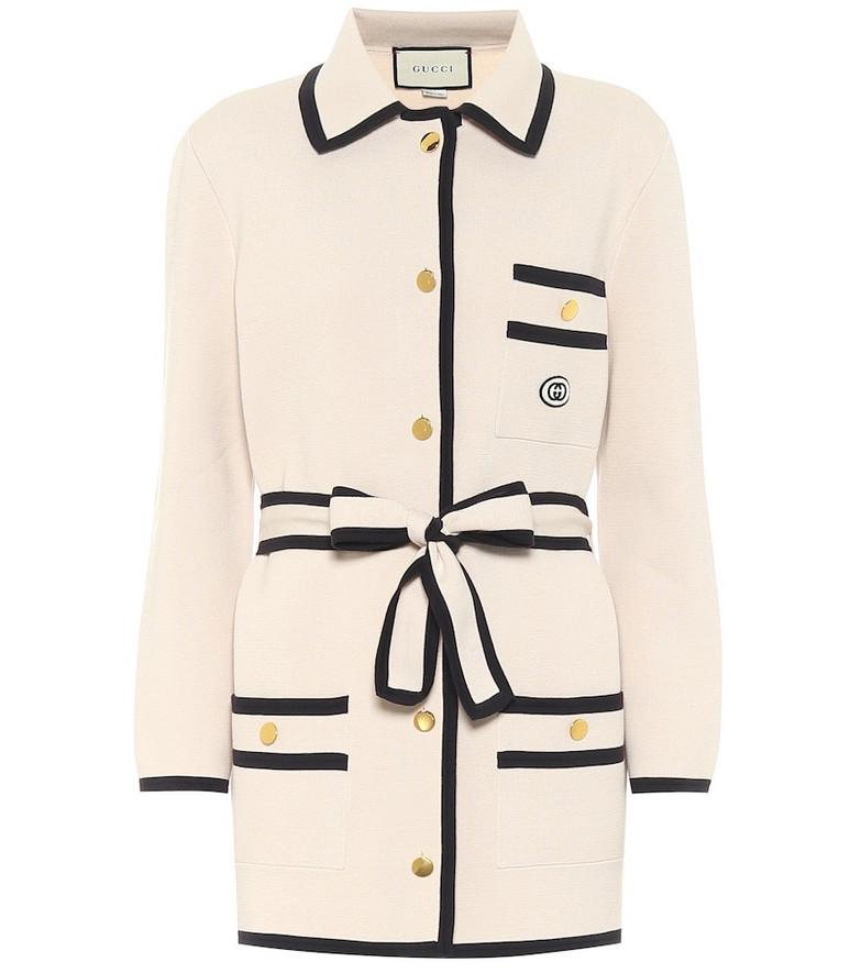 Gucci Cotton cardigan in white