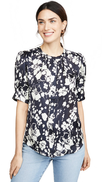 Joie Devoria Blouse in midnight