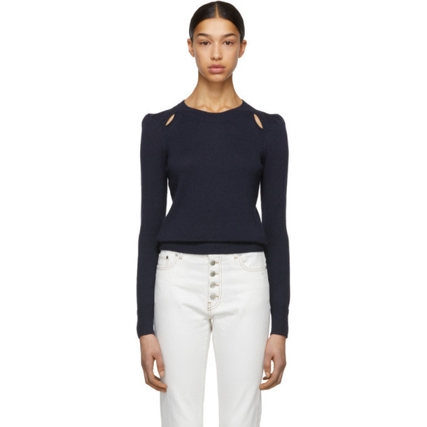 Isabel Marant Etoile Navy Klee Sweater
