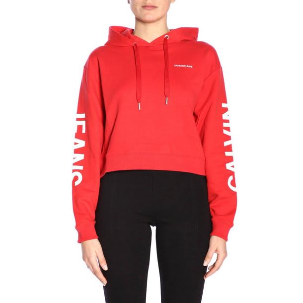 Calvin Klein Jeans Sweater Sweater Women Calvin Klein Jeans in red