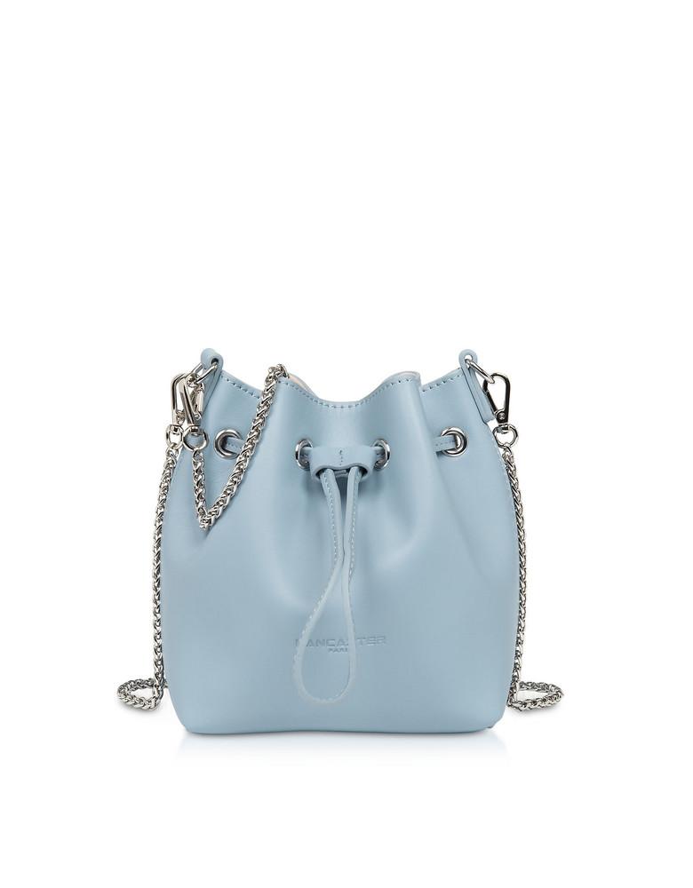 Lancaster Paris Treasure And Annae Leather Mini Bucket Bag in blue