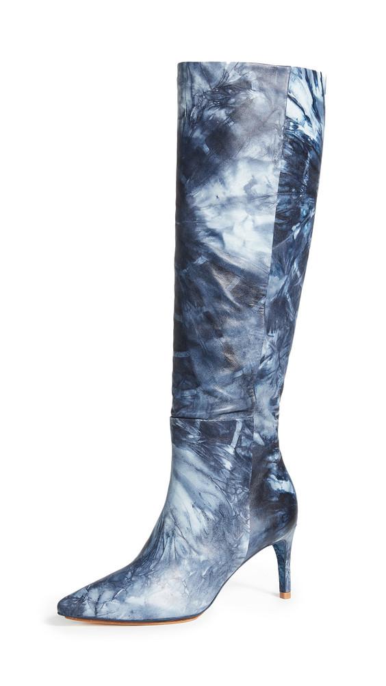 Ulla Johnson Devera Boots in indigo