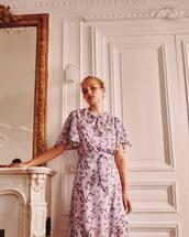 dress,purple dress