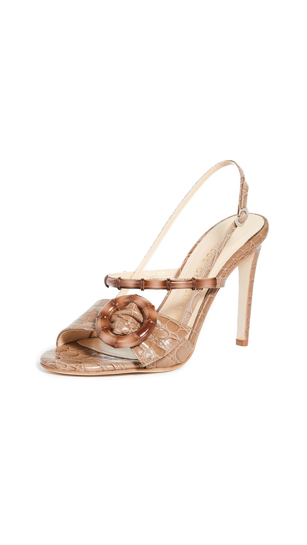 Chloe Gosselin Celeste Open Toe Sandals in taupe