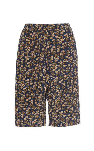 N°21 Floral-Print Silk-Blend Shorts Size: 38