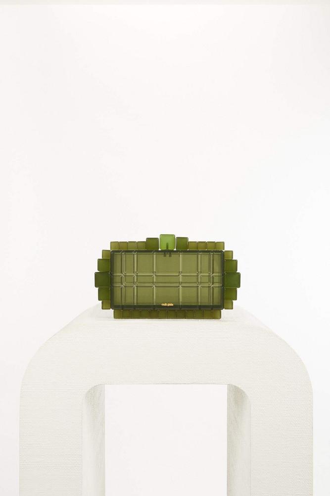 Cult Gaia Eden Clutch - Olive (PREORDER)                                                                                               $318.00