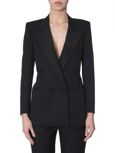 Saint Laurent Tuxedo Blazer in nero