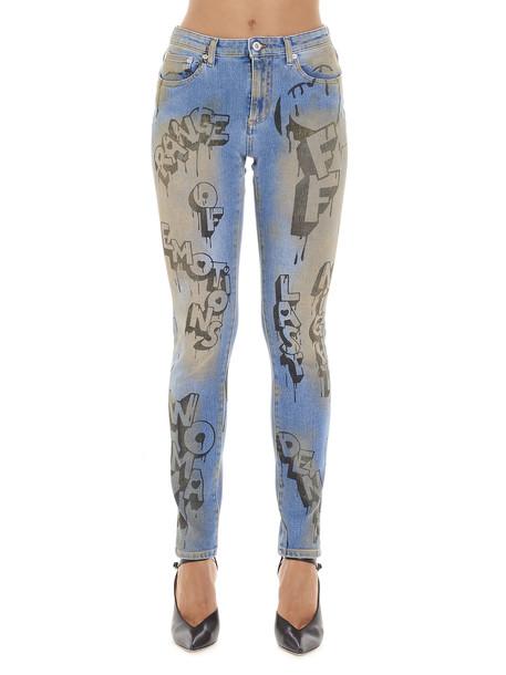 Off-white graffiti Jeans