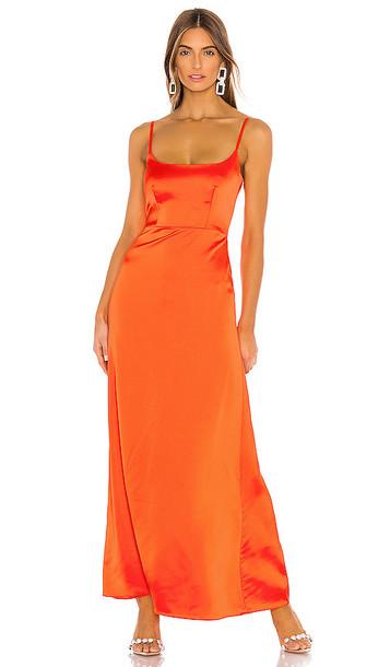 NBD Mieko Gown in Orange