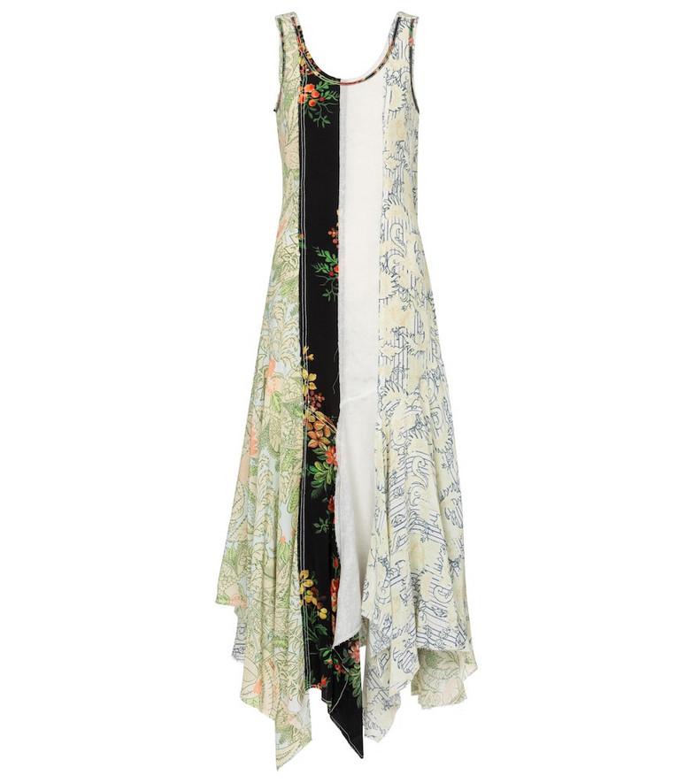 JW Anderson Patchwork maxi dress