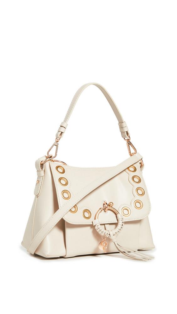 See by Chloe Hana Small Saddle Bag in beige