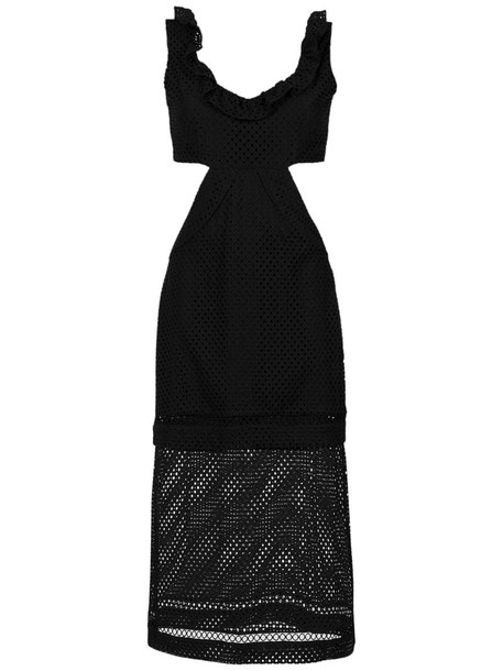 Olympiah Fellari midi dress in black
