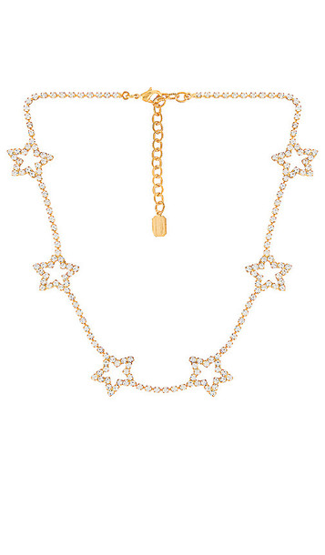 Elizabeth Cole Lively Necklace in Metallic Gold