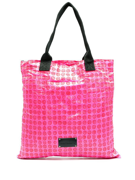 10 CORSO COMO geometric print tote bag in pink