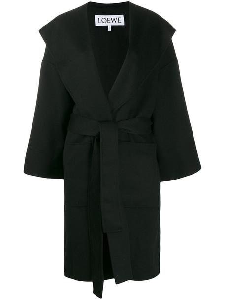 Loewe Coat in black