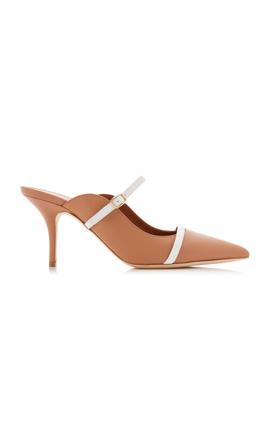 Malone Souliers Melody Leather Mules in neutral