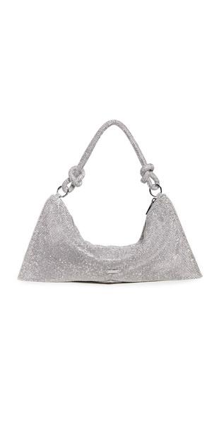 Cult Gaia Hera Mini Shoulder Bag in clear