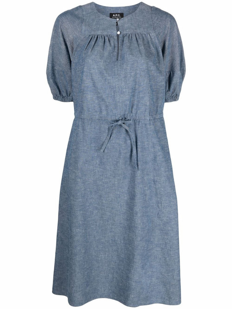A.P.C. A.P.C. Ondine denim dress - Blue