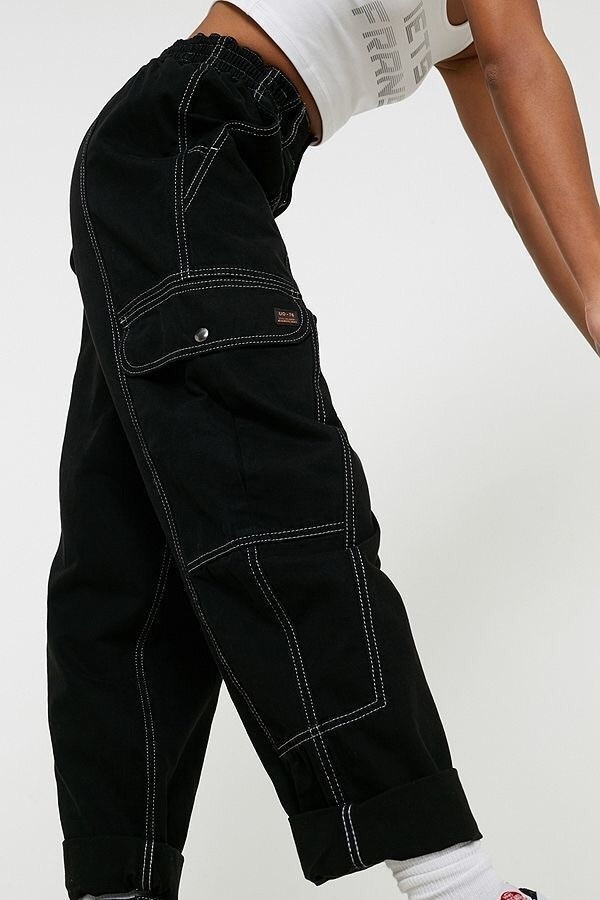 pants black white
