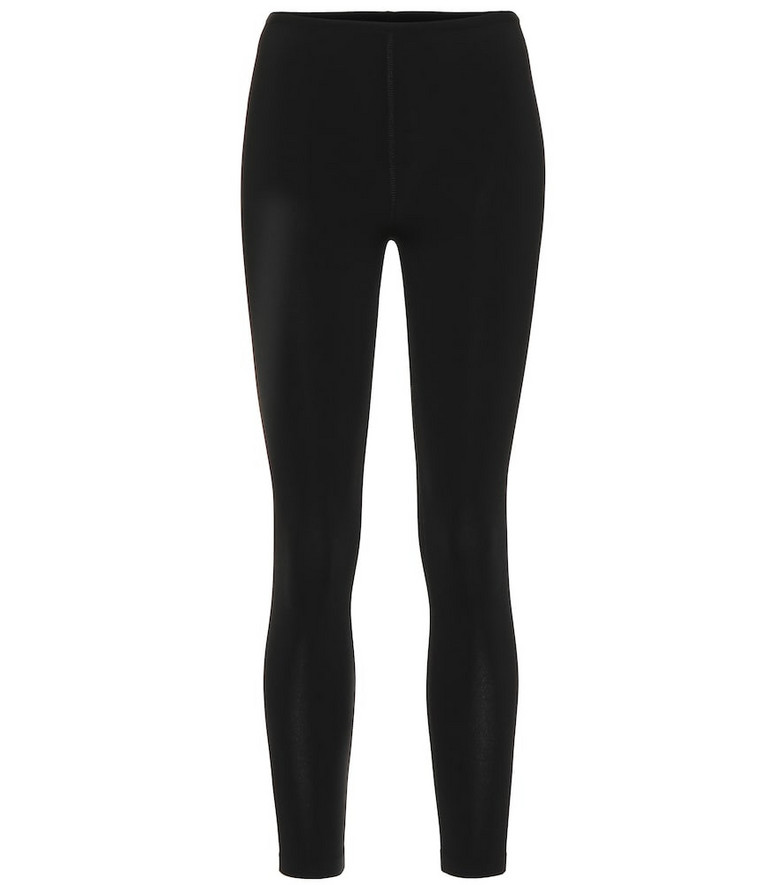 Alaïa Stretch-knit skinny pants in black
