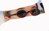 sunglasses,90s style,round sunglasses,black