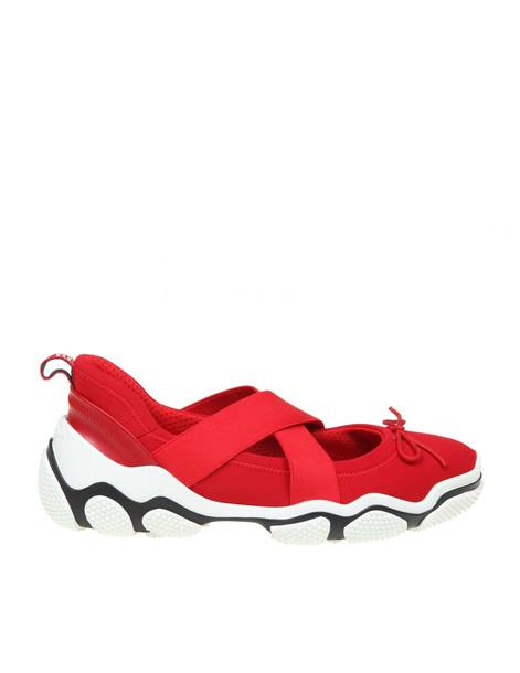 Red Valentino Neoprene Red Sneakers