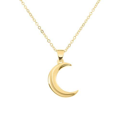 14K Gold Nix Symbols Necklace