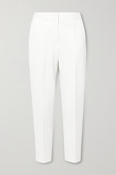 Max Mara - Pegno Cady Tapered Pants - White