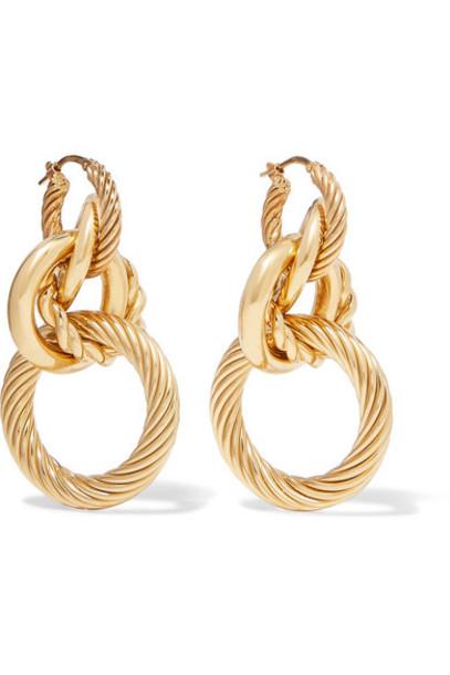 Bottega Veneta - Gold-tone Earrings
