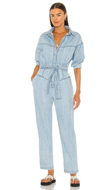 OVERLOVER Highland Jumpsuit in Blue